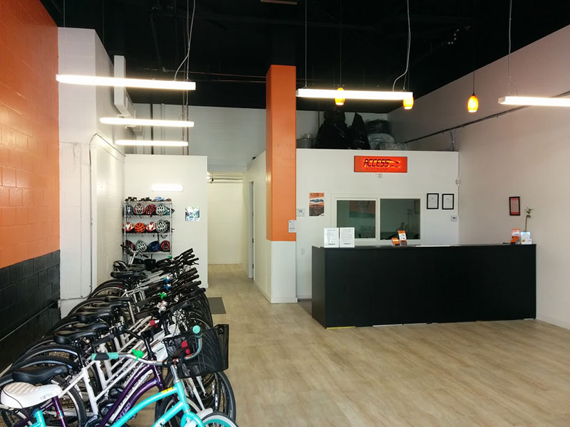 Inside-Access-car-rental-office-in-Vancouver-downtown
