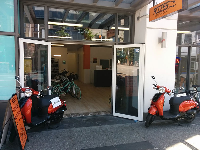 Scooter-rent-in-Vancouver-at-Access-scooter-rental