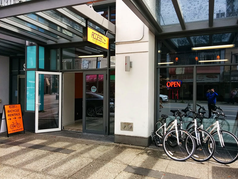 Rent-bike-in-Vancouver-at-Access-bike-rental